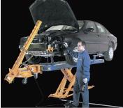 車体整備用機器